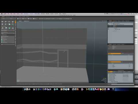 Modo 401 3D Modeling Tutorial -  Set Design: The Secret Lab Part 2