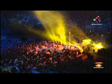 Maná - Lluvia Al Corazón + Labios Compartidos - Inauguración Panamericanos Guadalajara 2011