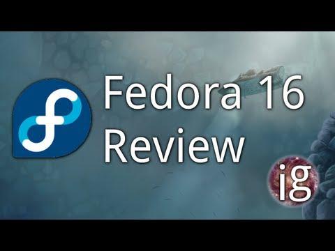 Fedora 16 Review - Linux Distro Reviews