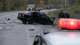 Лобовое ДТП под Житомиром, один водитель погиб