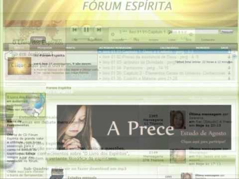 Apresentação Fórum Espírita