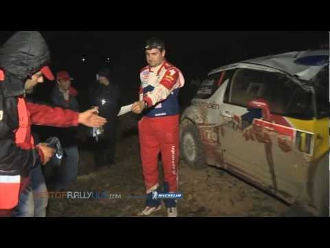 Leg 1: Loeb's crash - 2012 WRC Rally Portugal - Best-of-RallyLive.com