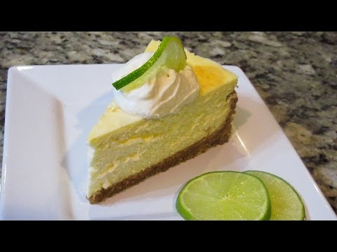 How to Make AUTHENTIC Key Lime Cheesecake From Scratch!