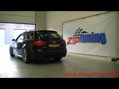 RS4 Avant B7 Sound! Revs - accelerations - ride