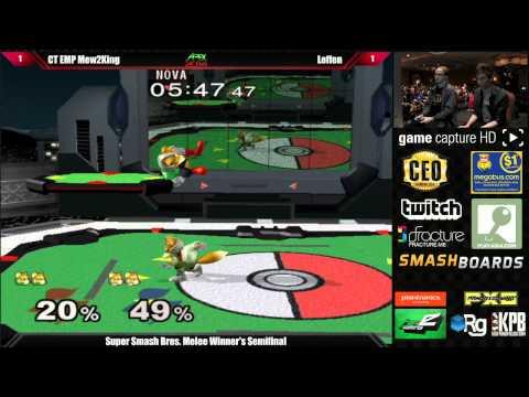 Super Smash Bros Melee Top 8 CT EMP Mew2King vs Leffen - Apex 2014 Tournament - UCjT9Hwh4twdfvFZCV1tIsCw
