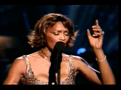 Whitney Houston - I will always love you - Live @ 25 th Arista Anniversary Concert.
