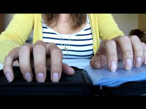 #43 Nail tapping & scratching on some stuff, ASMR