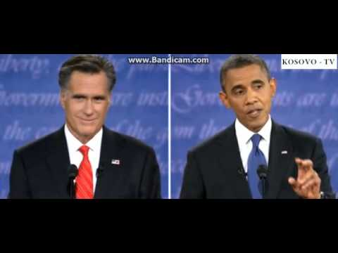 Presidential Debate Between President Obama and Mitt Romney (Part 2) 2012