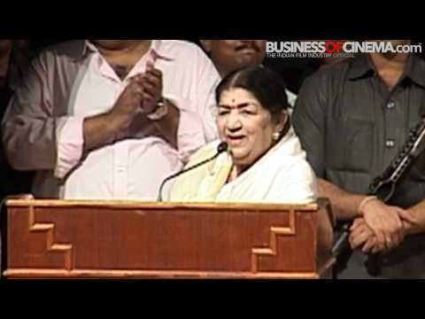 Lata Mangeshkar Honored With Hridaynath Award