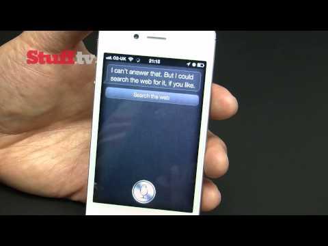 Apple iPhone 4S Siri demo