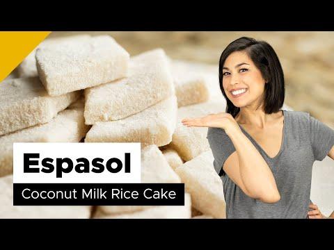 Espasol Recipe (Filipino Dessert)