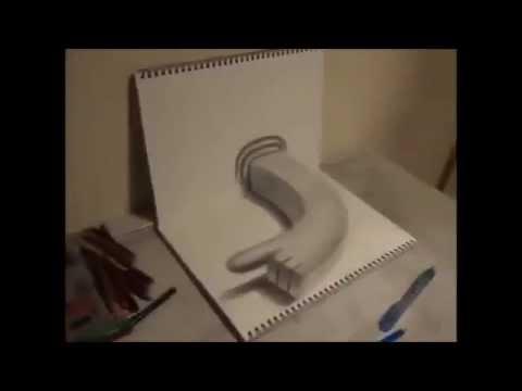 فيديو: حقيقة الرسم ثلاثي الأبعاد drawing 3D