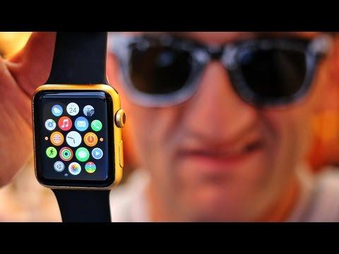 بالفيديو.. شاهد كيف تحصل على ساعة أبل الذهبية مقابل 350 دولارا بدلا من 10 آلاف