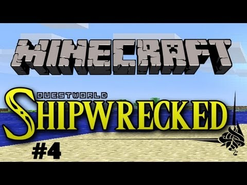 Questworld Shipwrecked #4 - A Minecraft Adventure