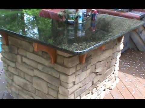How to build a Cultured Stone Outdoor Bar - UCRryeuOP--iOLYrc9KLJcyw