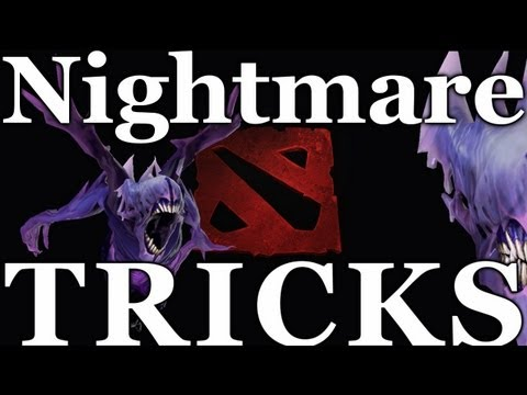 Dota 2 - Bane Nightmare Dodge Tricks | HD