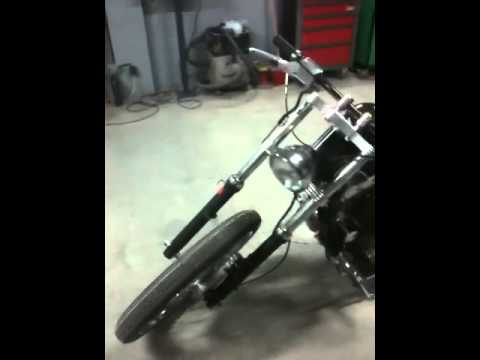 Harley Davidson sportster 883 chopper bobber jb