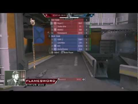 MLG Columbus 2012 - Halo: Reach Final: Instinct vs Status Quo (Game 1)