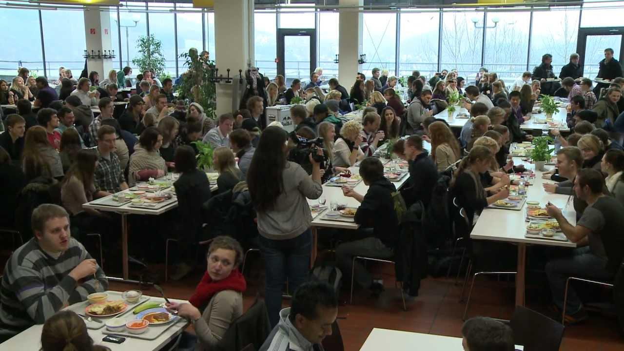 YMCA Flashmob - Mensa, Uni Siegen