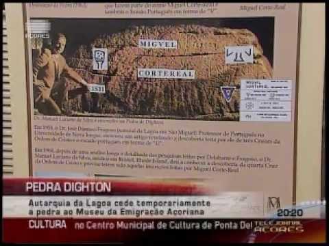 Réplica da Pedra de Dighton nos Açores