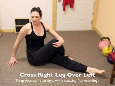 Back Pain Relief - Stretches for Lower Back Pain