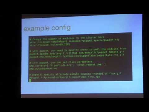 PuppetConf 2011 - Clustered Services With Apache Whirr: From Dev Up - Adrian Cole