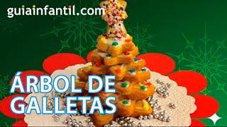 Un árbol de galletas, recetas de Navidad