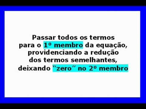 """Equações à Forma Normal """"Reduçao"""""""