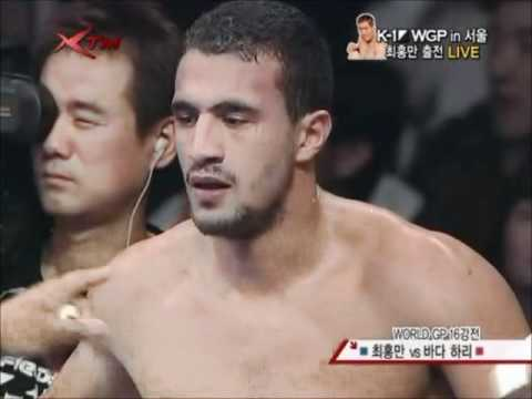 Badr Hari vs Hong Man-Choi[full fight] K-1 World GP 2008
