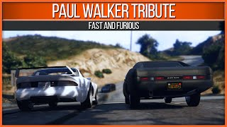 保羅雖然不再和我們在一起,而這名網友卻讓他在GTA5裏重生,眼淚止不住往下流。