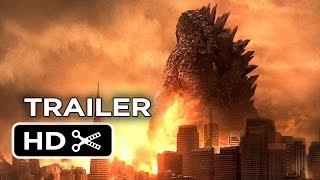Godzilla Official Trailer (2014) - Bryan Cranston, Ken Watanabe Monster Movie HD