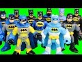 Imaginext Cyborg Holds Justice League Tryouts Batman Battles Injustice League Joker Bane & Team