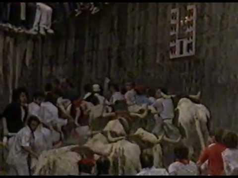 Encierro de San Fermín 11-7-1982