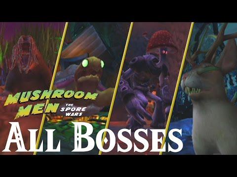 Mushroom Men : The Spore Wars // All Bosses - UCc9J0z8sBmdYu04fCVQb4eg