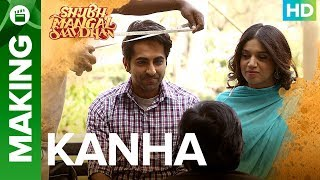 Shubh Mangal Saavdhan | Making of Kanha Video Song