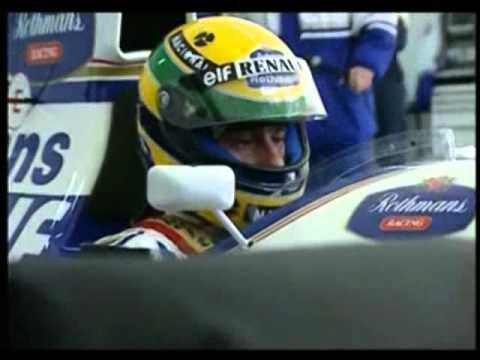 Ayrton Senna testing Williams 1994