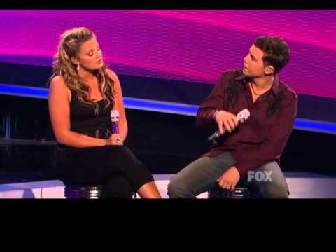 Lauren Alaina Scotty McCreery Duet American Idol 2011 I Told You So