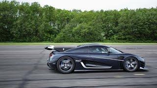 Мегакар Koenigsegg установил новый рекорд скорости