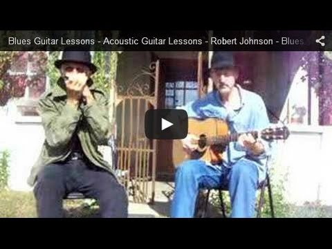Acoustic Blues Guitar Lessons - Robert Johnson - Me and the Devil - The Blues