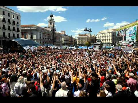 Spanish Revolution 15M, When They Come For Me (live in Madrid)