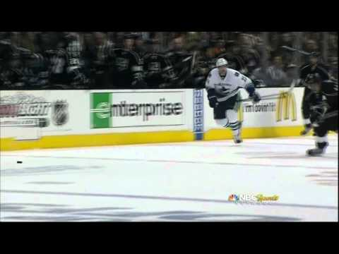 Anze Kopitar hustle goal. Vancouver Canucks vs LA Kings 4/18/12 NHL Hockey