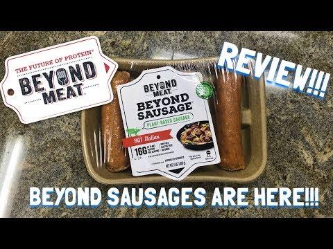 Beyond Meat Beyond Sausage   Taste Test & Recipe!