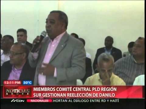 Miembros Comité Central PLD Región Norte Sur…