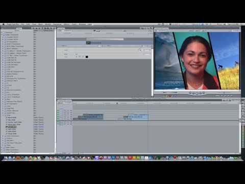 Final Cut Pro Tutorial #1:Diagonal Split Screen Effect