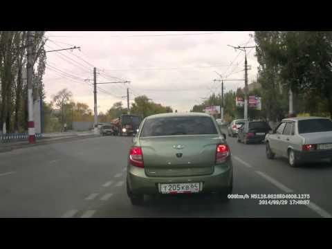 Авария в Саратове 29 09 2014