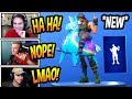 """STREAMERS REACT TO *NEW* """"BUSY"""" EMOTE/DANCE! *RARE* Fortnite FUNNY & SAVAGE Moments"""