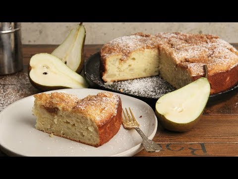 Pear Cardamom Cake   Ep. 1296