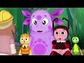 Фрагмент с конца видео - Лунтик и его друзья - 268 серия. Воздушный змей
