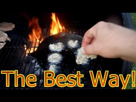 How to Clean and Cook Snapping Turtle Meat Part 2
