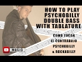 COMO TOCAR EL CONTRABAJO PSYCHOBILLY & ROCKABILLY. How to play Psychobilly Double Bass. Balerma Rock